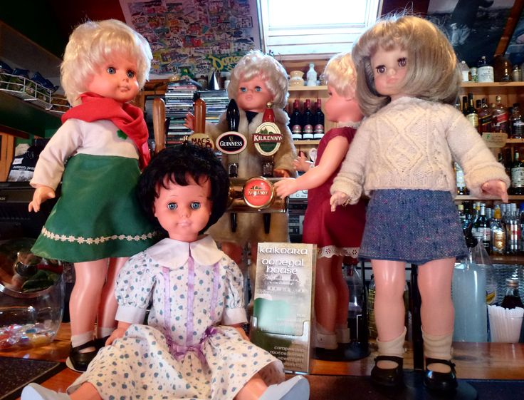 Some of the Crolly Doll 'girls' at Donegal House