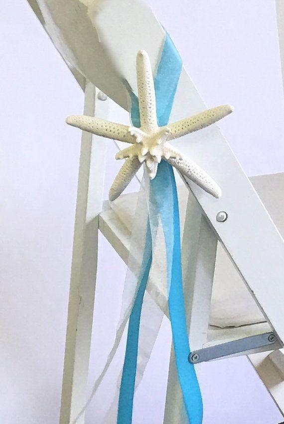 Beach Wedding Decor Starfish sedia di SeashellCollection su Etsy