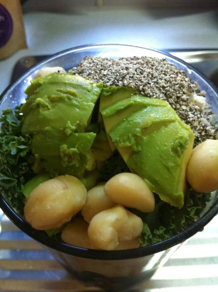 Recipe here: http://theresekerr.com/my-motor-home-healthy-shake/