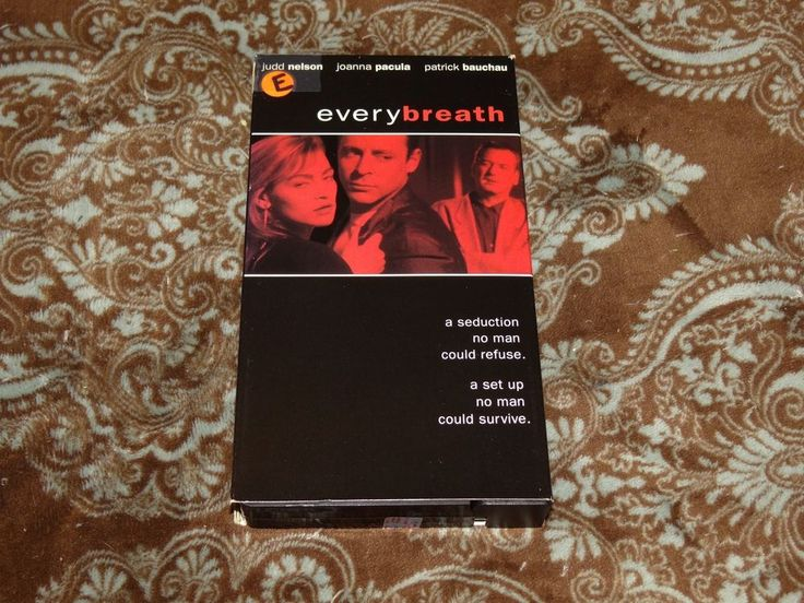 Every Breath (VHS, 1993) Rare OOP Columbia Judd Nelson/Pacula T&A! *NOT ON DVD*