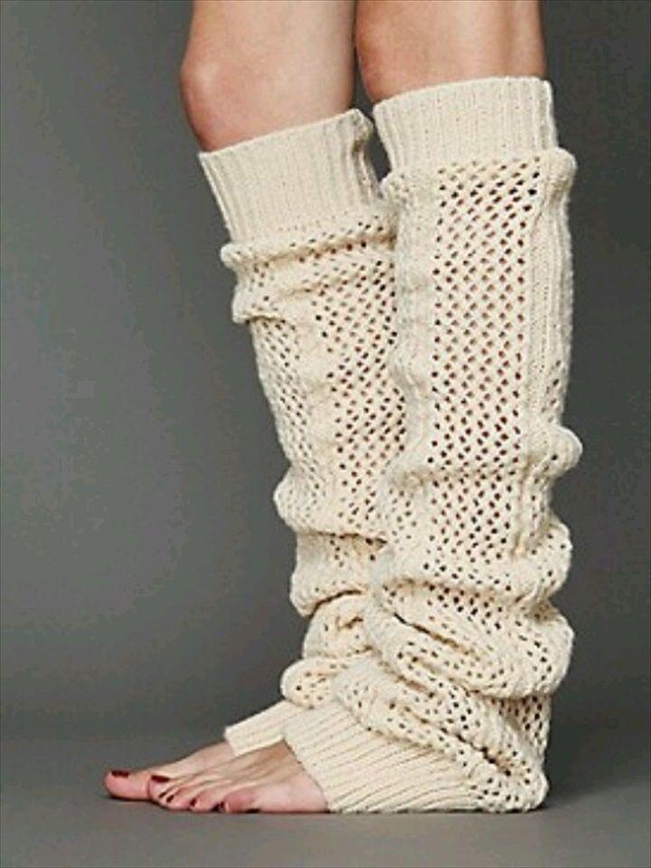 Crochet Leg Warmers- 20 DIY Crochet Leg Warmer Ideas For Girls | DIY to Make