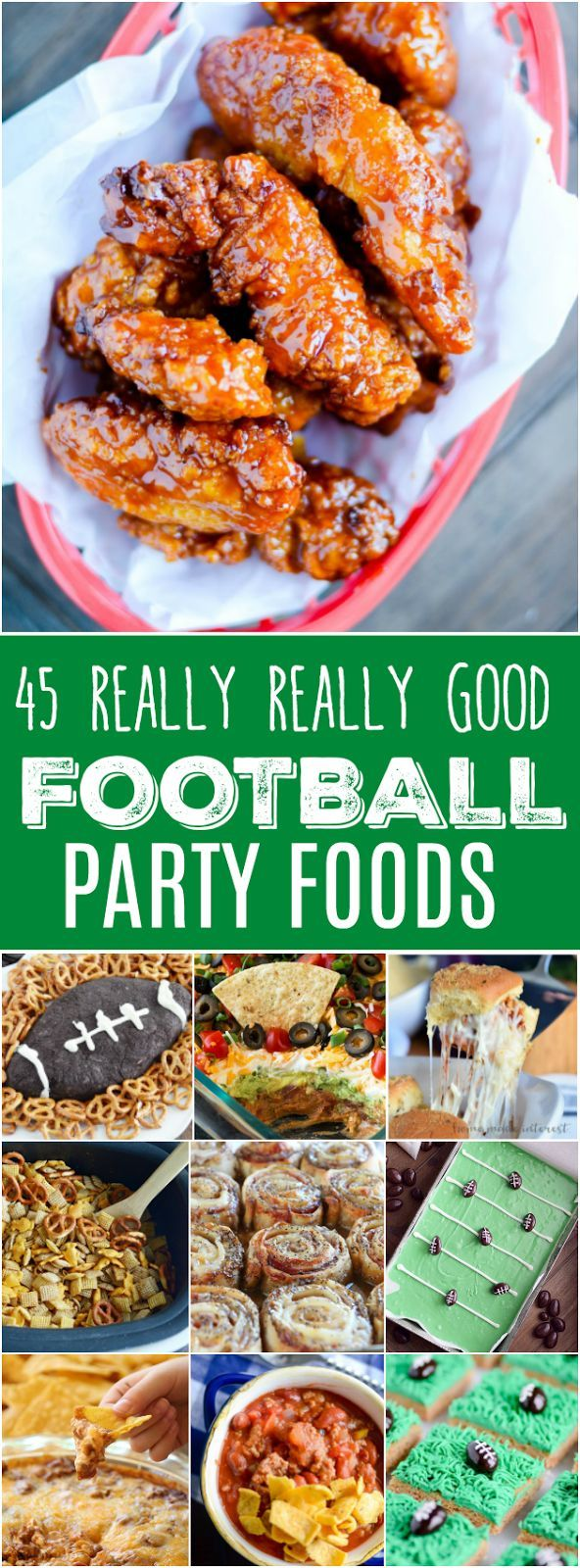 45 Really Really Good Football Party Foods http://www.keatseats.com/2017/09/45-really-really-good-football-party.html?utm_campaign=coschedule&utm_source=pinterest&utm_medium=Something%20Swanky&utm_content=45%20Really%20Really%20Good%20Football%20Party%20Foods