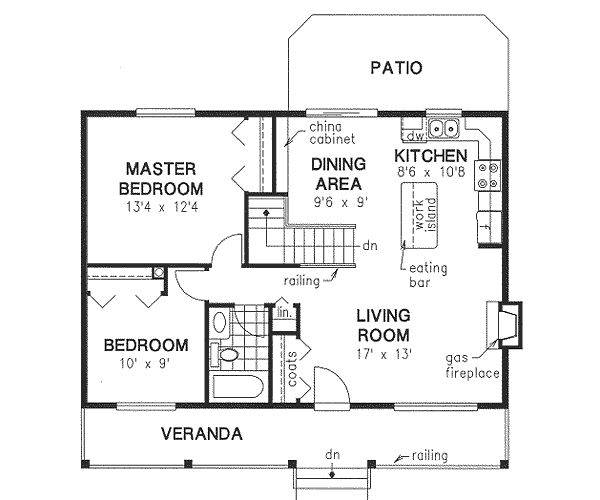 900 To 950 Sq Ft Floor Plans Country Style House Plans