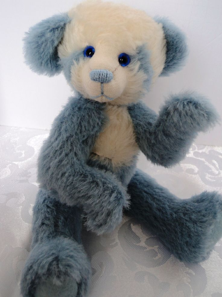 Let me introduce you to Er Shun.  Approximately 9 inches is made from German alpaca and mohair.