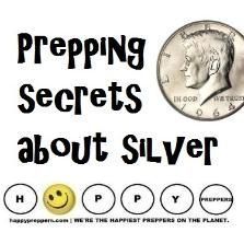 PREPPING SECRETS ABOUT SILVER? http://happypreppers.com/silver.html #preppertalk #prepping #preparedness