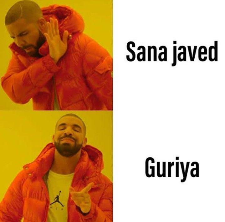 Pin By Zai Noor On Sana Javed Guriya New Year Meme Drake Hotline Hotline Bling Meme