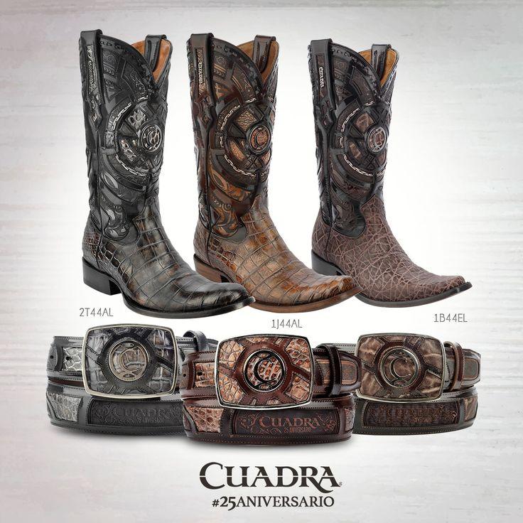 Conmemorando el #CUADRA25Aniversario lanzamos una edición especial de #botas y…
