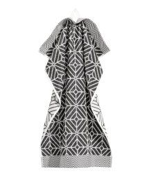 Jacquard-weave Hand Towel | White/charcoal gray | H&M HOME | H&M US