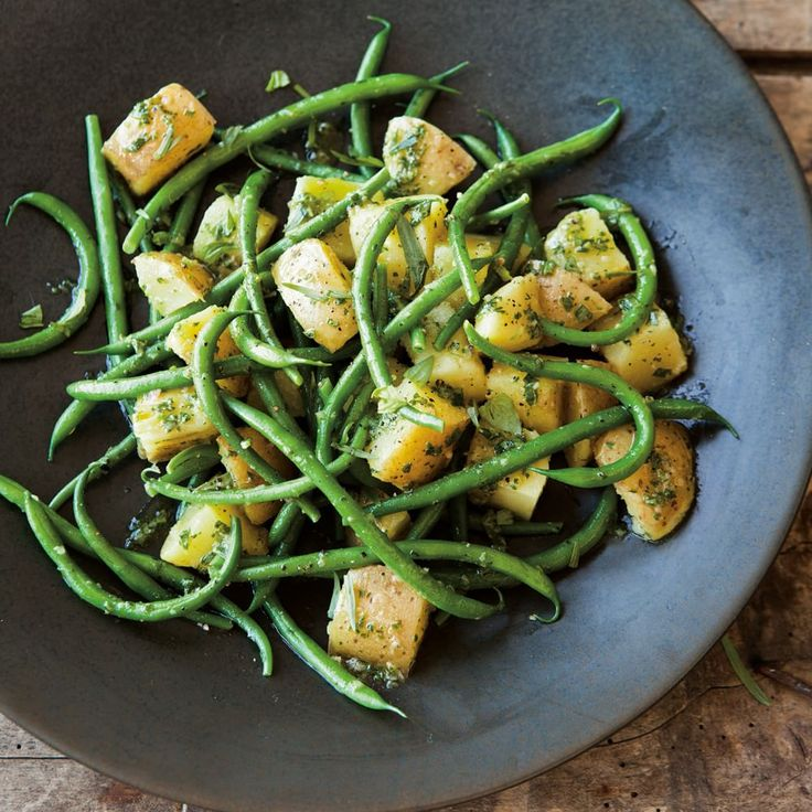 Green Bean and Potato Salad with Herbs and Anchovies | Williams-Sonoma