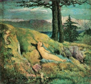 the source by giovanni segantini