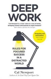 Popular blogger Cal Newport reveals the new key to achieving success and true meaning in professional life - the ability to master distraction.