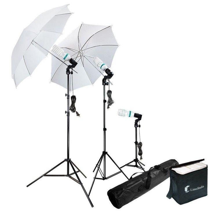 Photography Lighting Kit Photo Portrait Studio Day Light Umbrella Portable NEW  #LimoStudio