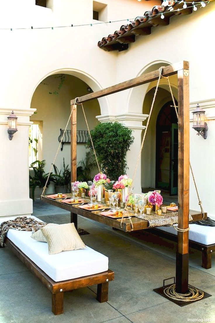 50 Awesome Garden Furniture Design Ideas