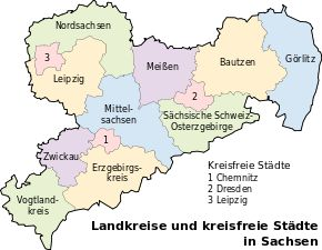 Landkreise Sachsen 2012 - Saxony - Wikipedia, the free encyclopedia