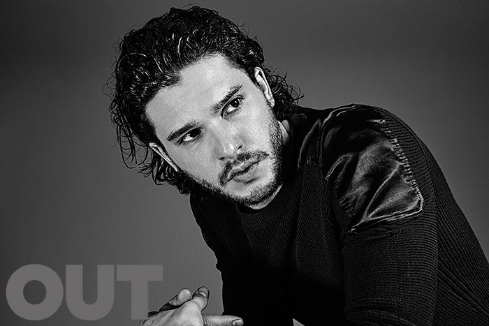 Kit Harrington of Game of Thrones in Louis Vuitton, shot by Nino Muñoz for OUT Magazine