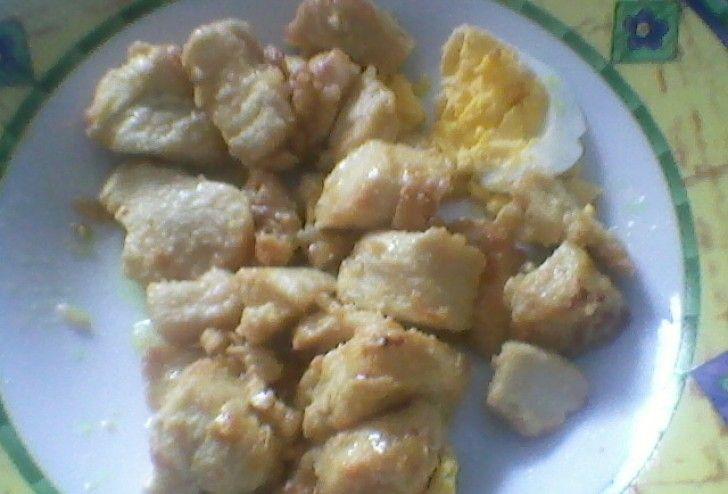 Isca de frango com mostarda e limão