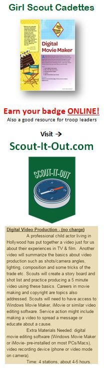 1000 images about girl scouts digital arts badge on