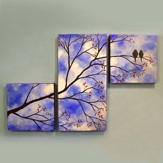 i love how it covers three canvases!