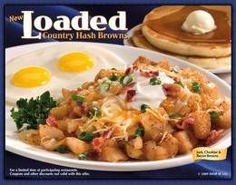 International House of Pancakes Copycat Recipes: Loaded Hash Brown Potatoes