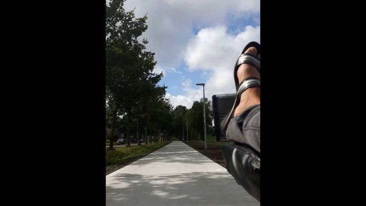 Tour zuidlaren deel 1 nieuw fiets pad snapchat
