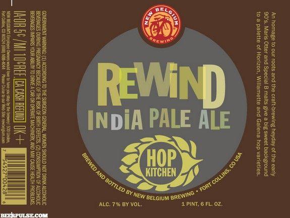 new belgium rewind ipa | Beer | Beer, Beer Packaging ...