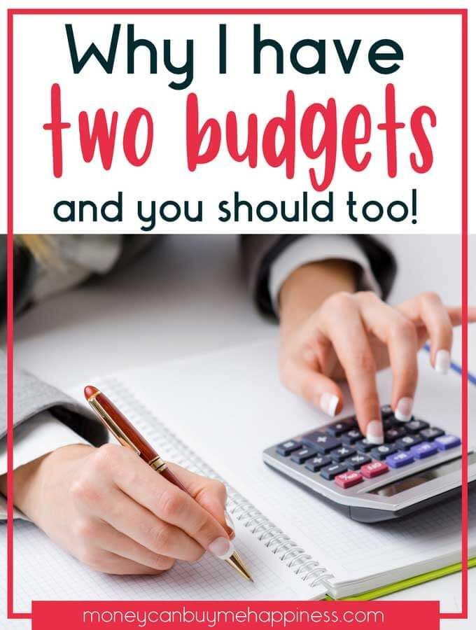Having two budgets helps me sleep at night when I'm anxious about the state of the economy. Being prepared with a bare bones budget is a smart way to ensure you'll be just fine if you lose an income, or are faced with dire financial changes. Being prepared makes all the difference when it comes to your money.