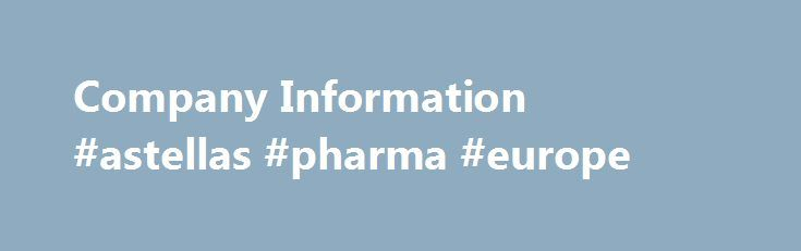 Company Information #astellas #pharma #europe http://pharmacy.nef2.com/company-information-astellas-pharma-europe/  #pharma info # COMPANY INFORMATION Mystic Pharmaceuticals Limited is a closely held, professionally managed, WHO-GMP ISO Certified Pharmaceutical company. The company enjoying reach manufacturing experience of 15 years as established in the year 1999 as a joint venture company in response to a growing demand for high quality Pharmaceutical products. This Pharmaceutical Company…