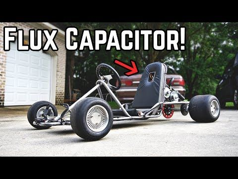 Our vintage go kart with a highly modified Predator 212cc