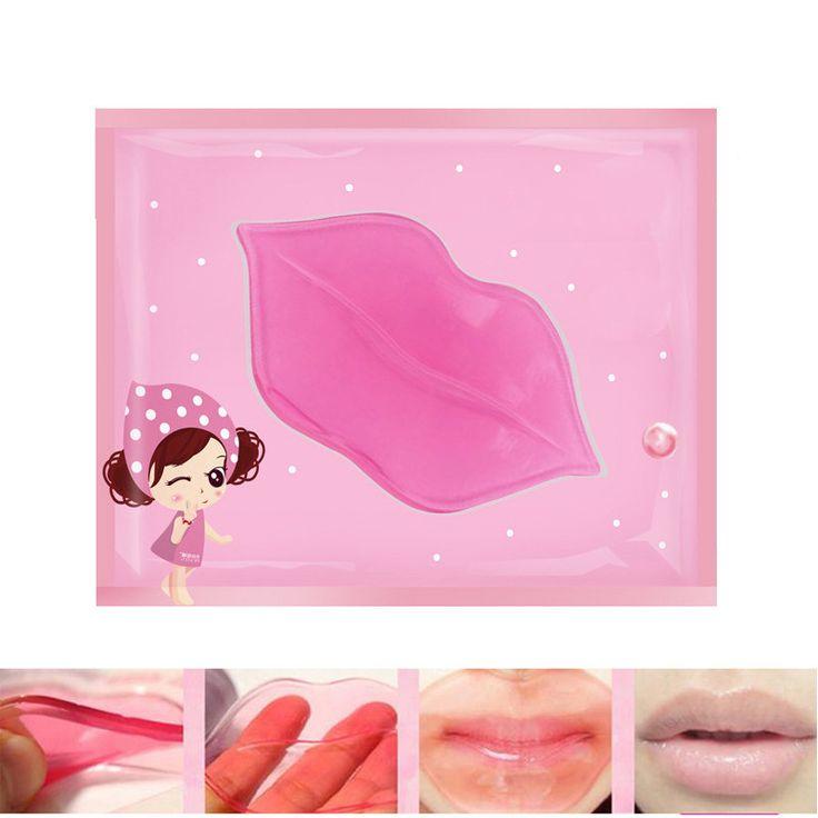 10Pcs/lot Lip Plumper Crystal Collagen Lip Mask Pads Moisture Essence Anti ageing Wrinkle Pad Exfoliating Lip Membrane Care Balm