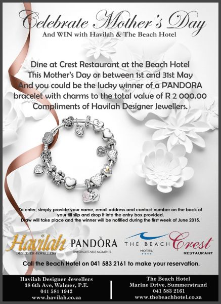 Celebrate Mother's day with Havialh and The Beach Hotel