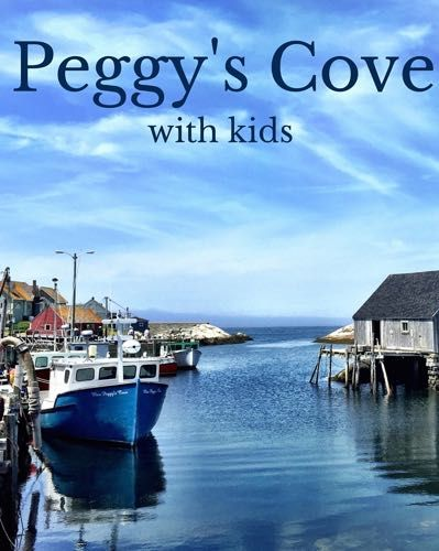 A guide to visiting Peggy's Cove Lighthouse in Nova Scotia with kids.