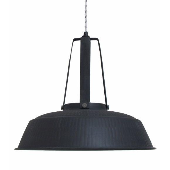 Hkliving Hanglamp Workshop 45 cm - Matzwart