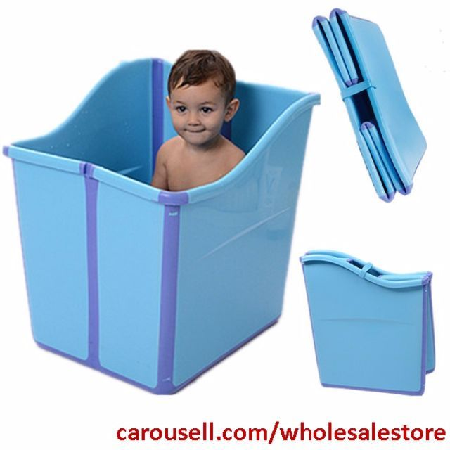Foldable Children Bathtub Kids Flexi Bathtub Oversized Children S