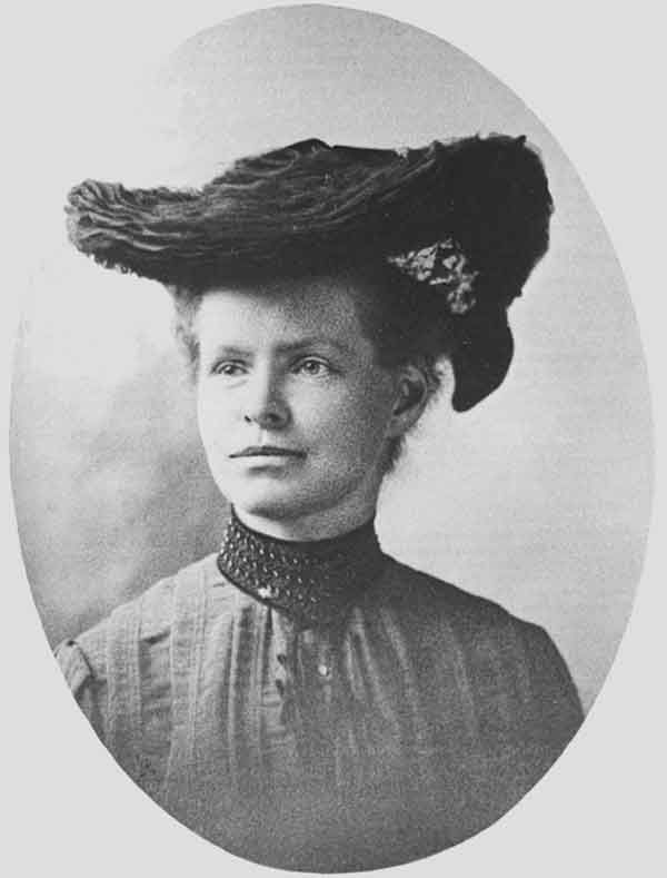 Nettie Stevens: teacher, scientist, discoverer of X and Y chromosomes determining sex.