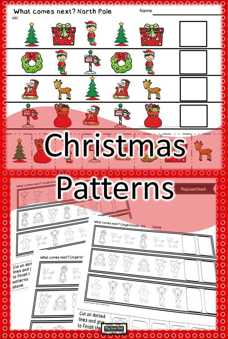 Christmas Patterns Activities For Preschool And Kindergarten Practice Patterning Ab Aa Christmas Teaching Resources Life Skills Curriculum Teaching Resources [ 1096 x 736 Pixel ]