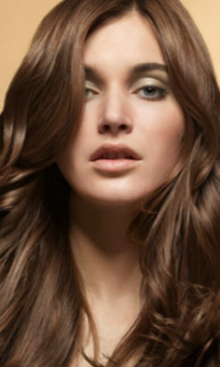 Golden Brown Ombre Hair With Caramel Highlight Diffe Color Effects Both Nice Long