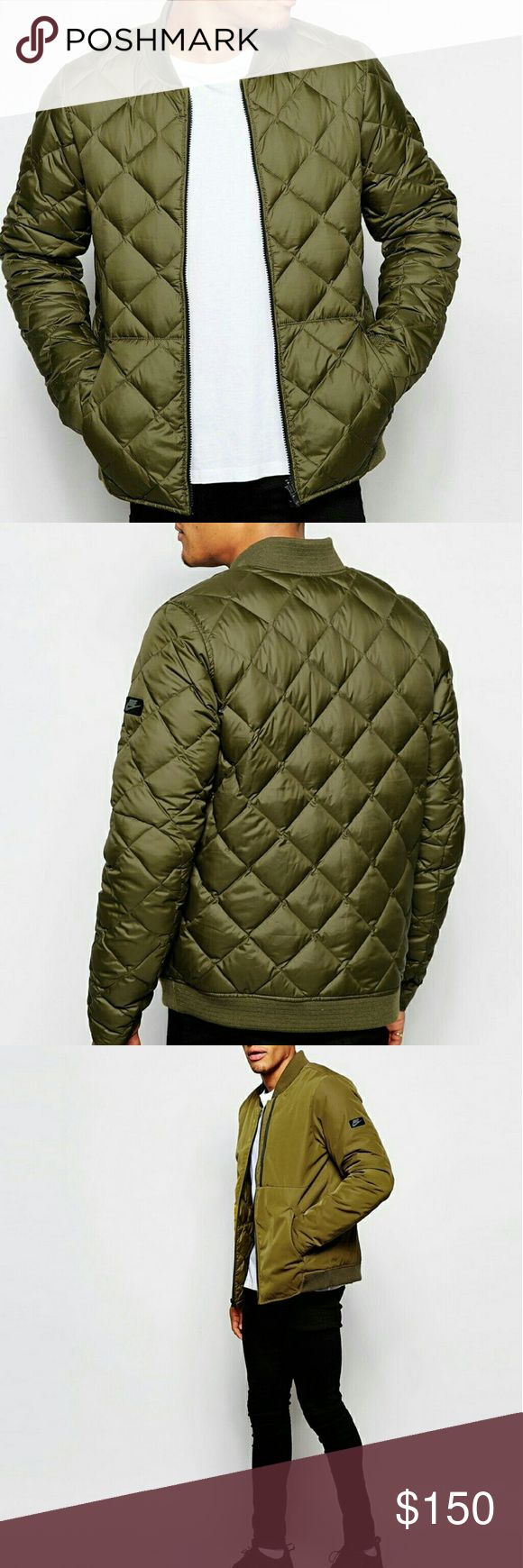 Nike Bomber Brand new! Get two great looks in one, both down insulated for warmth, in this reversible jacket from Nike Nike Jackets & Coats Bomber & Varsity