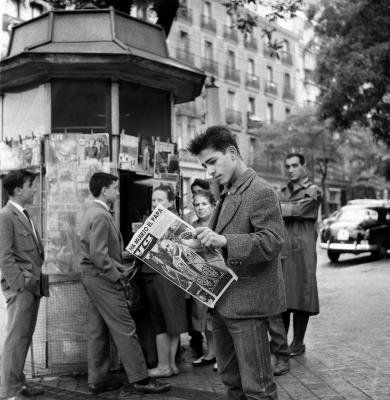 Madrid, 04.06.1963. Imagen de una portada del diario Ya, con las  últimas noticias sobre la muerte del Papa Juan XXIII. EFE/Archivo/Luis Alonso/nr
