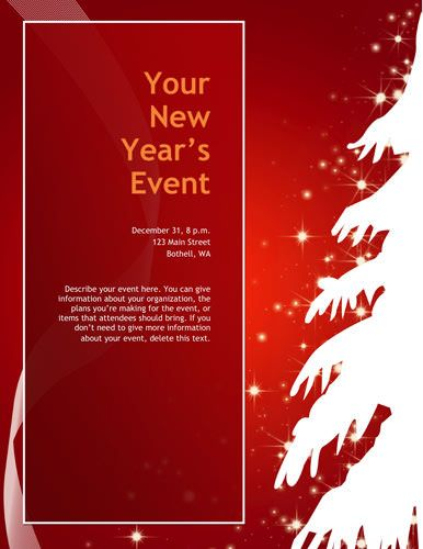 50 best Christmas Flyers images on Pinterest Card patterns, Card - free holiday flyer templates word