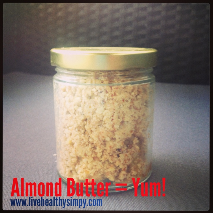 Almond butter made with 2Die4 Live Foods Activated Almonds... So delicious!  Get the recipe at livehealthysimply.com and buy the nuts from Shophealthy.com.au