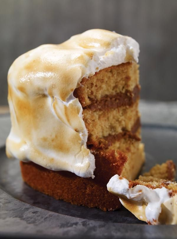 Recette de Ricardo de gâteau S'mores