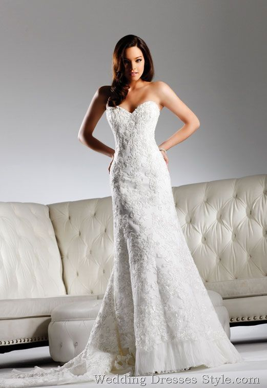 david tutera wedding dresses | David Tutera by Faviana 2011 Wedding Dresses (5) not really liking the tulle on the bottom