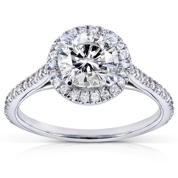 1000 Ideas About Engagement Rings Round On Pinterest