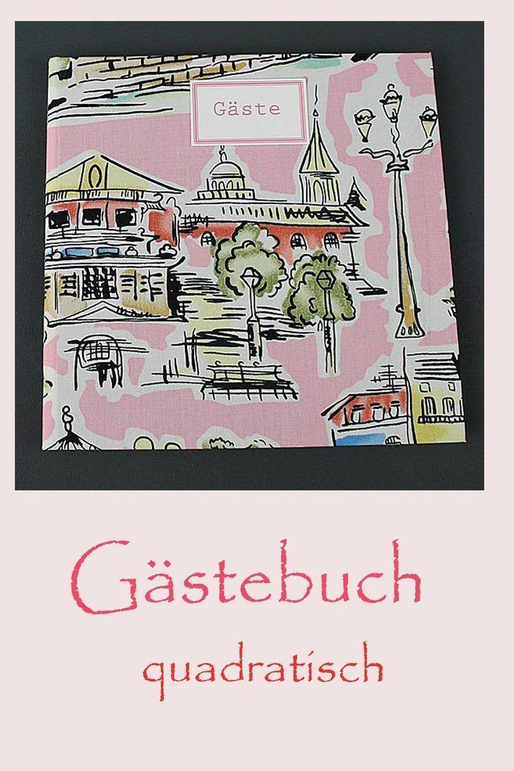 Rosa Gemustertes Gastebuch Retro Mit Parismotiven Retro Motive Rosa