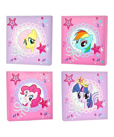 My Little Pony Wrapped Canvas Set By My