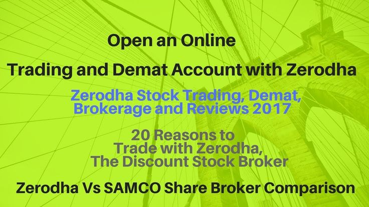 How to Open Online Demat Account/TRADING ACCOUNT? with Zerodha (HINDI)