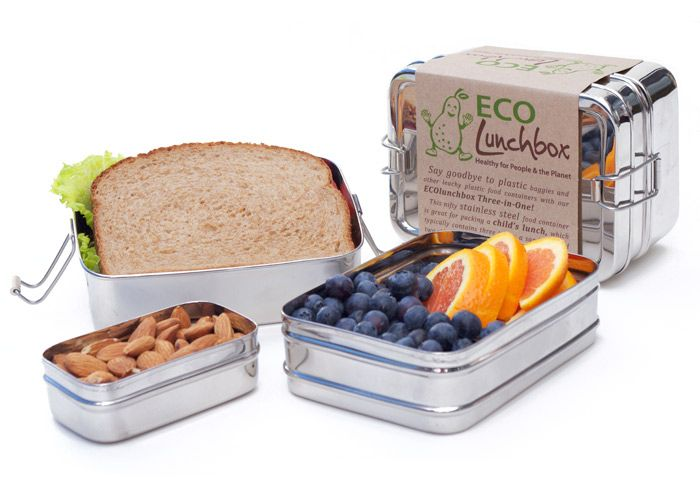 Never too early to think about Back To School – The Eco Friendly Way - Stainless Steel, Plastic Free Lunch Boxes