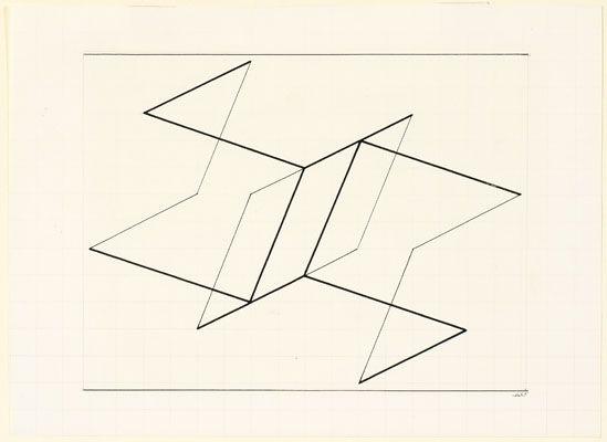 Josef Albers, Structural Constellation, 1955