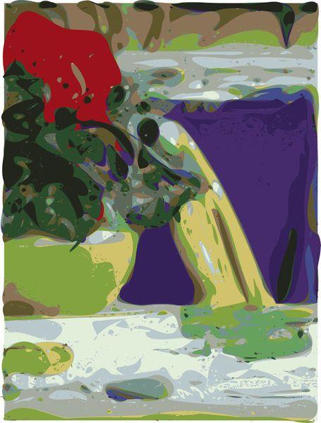 'Talking Spot' by Petros Vasiadis on artflakes.com as poster or art print $15.77