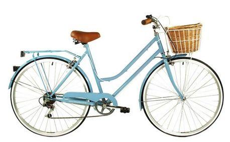6 Speed Baby Blue Vintage Ladies Bike by Reid Cycles